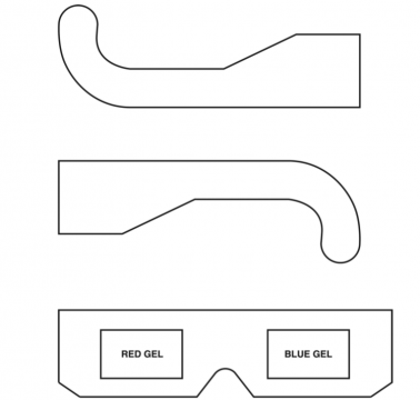 How to make 3D glasses for $4